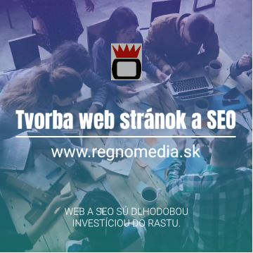 Tvorba web stránok, SEO konzultant, písanie článkov a textov Zdenko Šmondrk-REGNO