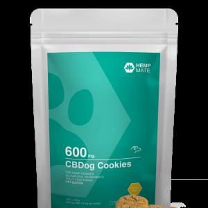 HEMPMATE CBDog Cookies - granule pre psov s CBD