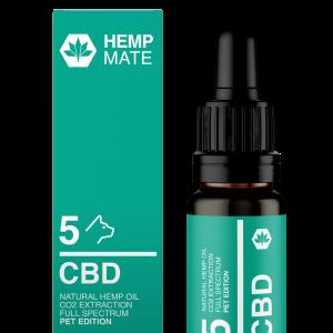 HEMPMATE CBD olej pre domáce zvieratá 5 mg