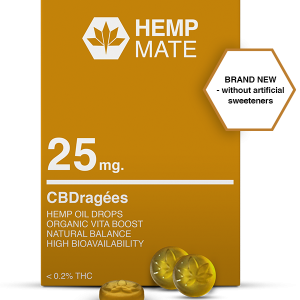HEMPMATE CBD dražé 25